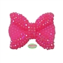 28mm Hot Pink Bling Bow