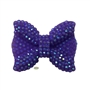 28mm Purple Bling Bow