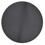32mm Black Frost Acrylic Plastic Disc Bubblegum Beads