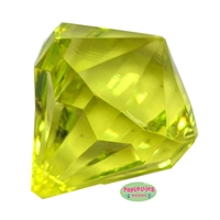 Medium Lime Green Gem Pendant