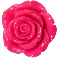 42mm Hot Pink Flower
