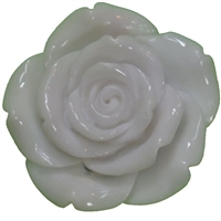 42mm White Flower