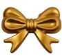 45mm Gold Bow