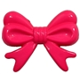45mm Hot Pink Bow