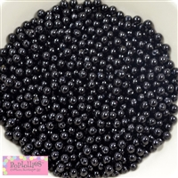6mm Black Pearl Spacer Beads 200pc