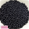 6mm Black Pearl Spacer Beads