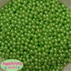 6mm Lime Pearl Spacer Beads