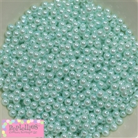 Mint Pearl Spacer Beads 6mm