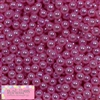 6mm Pink Pearl Spacer Beads