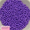 6mm Purple Pearl Spacer Beads