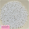 6mm White Pearl Spacer Beads