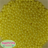6mm Yellow Pearl Spacer Beads
