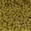 6mm Gold Colored Spacer Beads 50pc