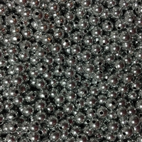 6mm Silver Color Spacer Beads 1000pc