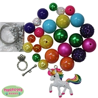 Rainbow Unicorn Necklace Kit
