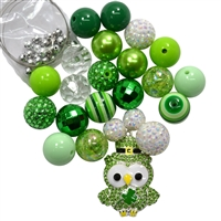 St. Patrick's Day Owl Necklace DIY Kit