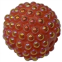 20mm Coral Berry Acrylic Bubblegum Beads