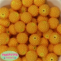 20mm Gold Berry Beads