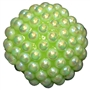 20mm Lime Green Berry Acrylic Bubblegum Beads
