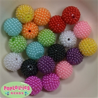 20mm Mixed Colors Berry Beads