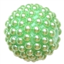 20mm Pastel Green Berry Acrylic Bubblegum Beads