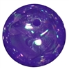 20mm Purple Shiny AB Bubble Style Acrylic Gumball Bead