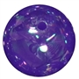 20mm Purple Bubble Bead