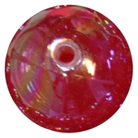 20mm Red Shiny AB Bubble Style Acrylic Gumball Bead