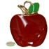 Enamel Apple Charm