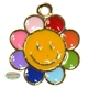 Small Enamel Colorful Flower Charm
