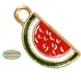 Small Enamel Watermelon Charm