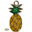 Small Enamel Pineapple Charm