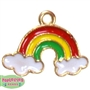 Small Enamel Rainbow Charm
