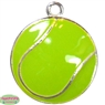 Small Enamel Tennis Ball Charm