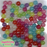 Bulk 20mm Mix Color Crackle Beads