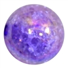 20mm Purple Crackle Bubblegum Bead
