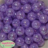 20mm Purple Crackle Bubblegum Bead Bulk