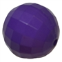 20mm Purple Disco Ball Bubblegum Beads