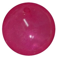 Hot Pink Frosted Bead