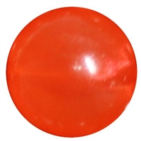 Orange Frosted Bead