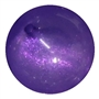 Purple Frosted Bead