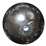 20mm Black Illusion Style Acrylic Gumball Bead