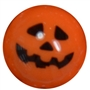 20mm Jack O Lantern Print Solid Bubblegum Beads
