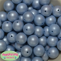 20mm Baby Blue Matte Pearl