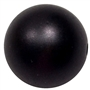 20mm Matte Black Acrylic Bubblegum Beads