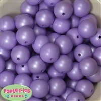 20mm Lavender Matte Pearl Beads