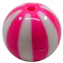 Hot Pink Melon Stripe
