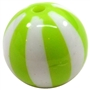Lime Green Melon Stripe