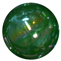 20mm Emerald Green Miracle AB Acrylic Bubblegum Beads