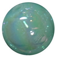 20mm Mint Green Miracle AB Acrylic Bubblegum Beads